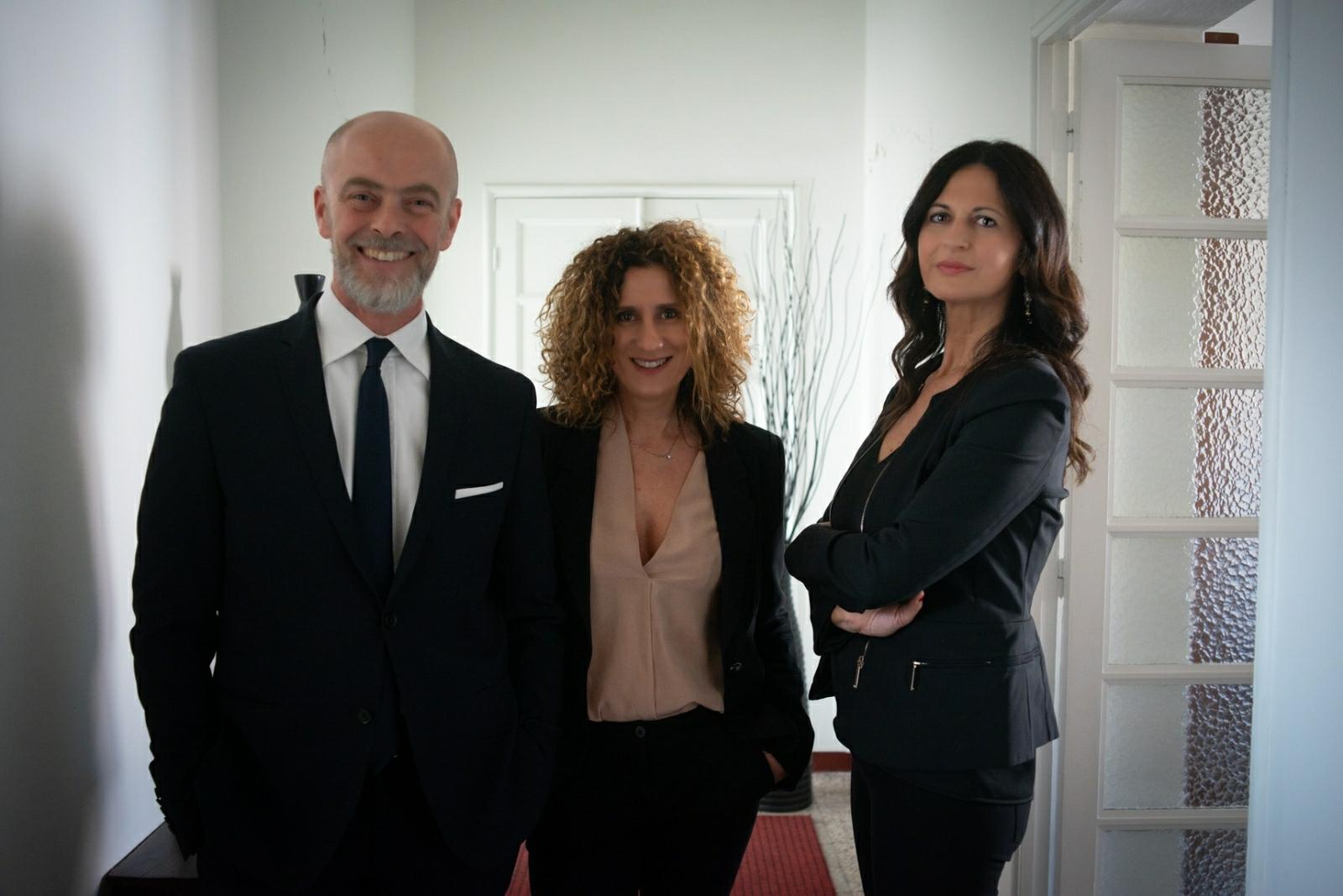 Ritratto degli avvocati dello studio Lmlex di Macerata
